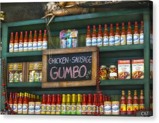 Gumbo Canvas Print - Gumbo by Brenda Bryant