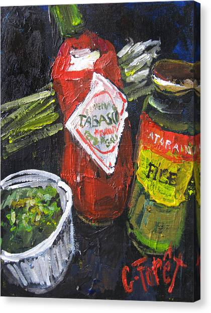 Gumbo Canvas Print - Gumbo On The Way by Carole Foret