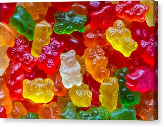 Gummy Bear Canvas Prints Fine Art America