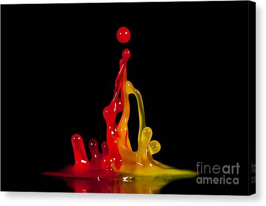 Gummy Drops Canvas Print