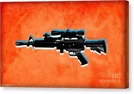Weapons Canvas Print - Gun 2 by Mark Ashkenazi