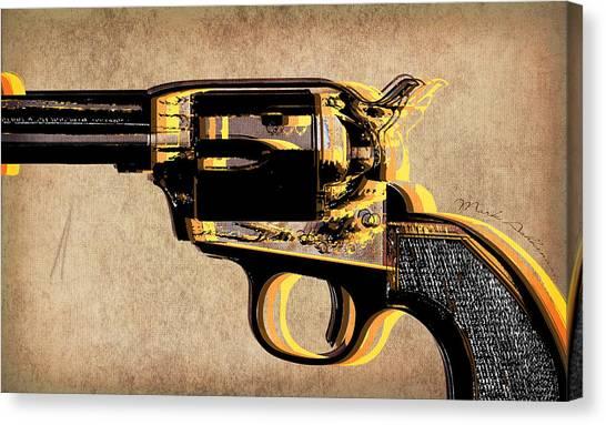 Weapons Canvas Print - Gun 4 by Mark Ashkenazi
