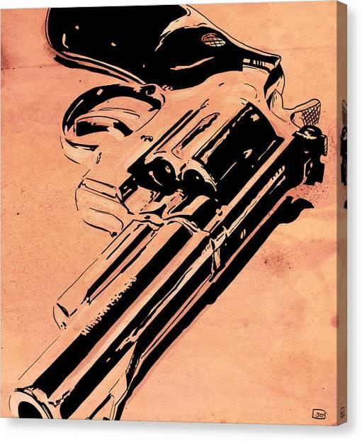 Gun Control Canvas Print - Gun Number 6 by Giuseppe Cristiano