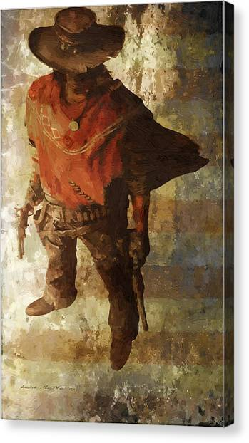 Gun Slinger Canvas Print