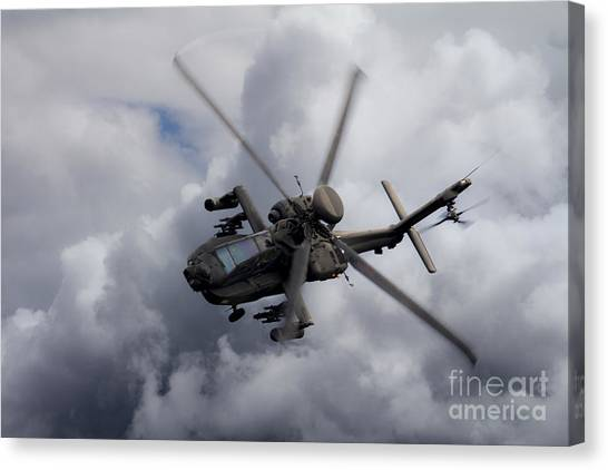Aac Canvas Print - Gunship  by J Biggadike