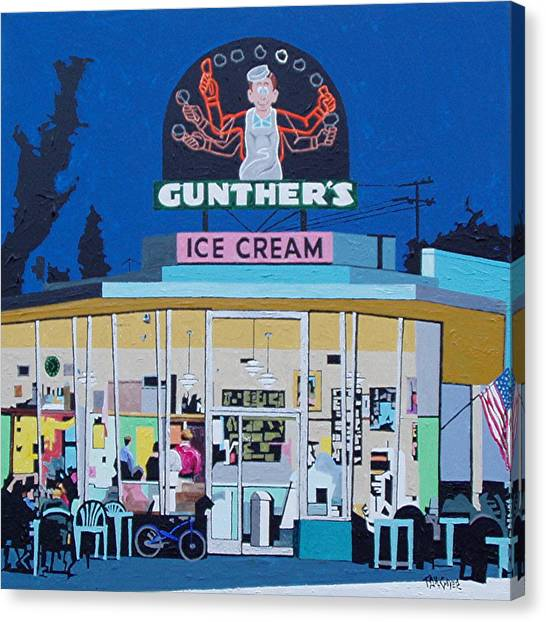 Gunthers Number 4 Canvas Print by Paul Guyer
