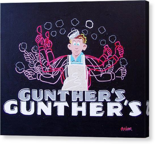 Gunthers Number 5 Canvas Print by Paul Guyer