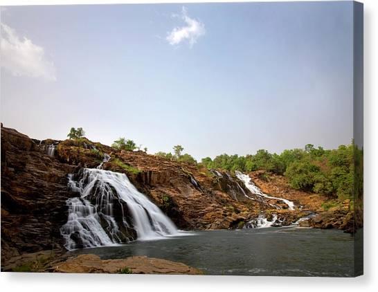 Nigeria Canvas Print - Gurara Falls by Sean Caffrey