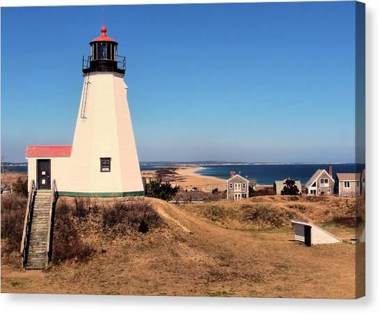 Gurnet Lighthouse Canvas Print