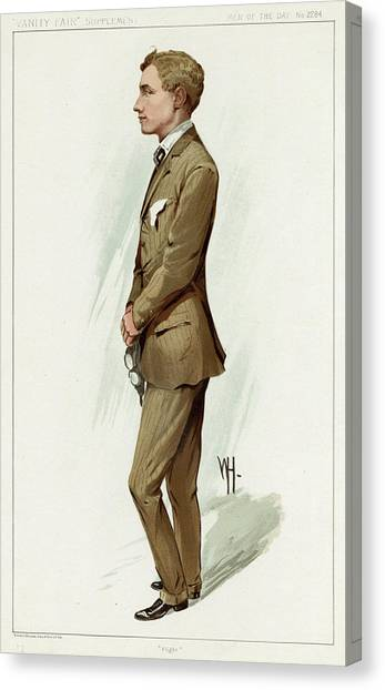 Hamels Canvas Print - Gustave Hamel  Aviator        Date 1888 by Mary Evans Picture Library