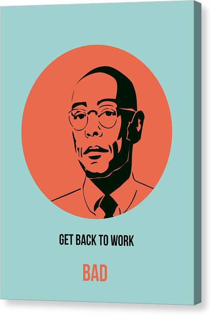 Tv Shows Canvas Print - Gustavo Fring Poster 1 by Naxart Studio