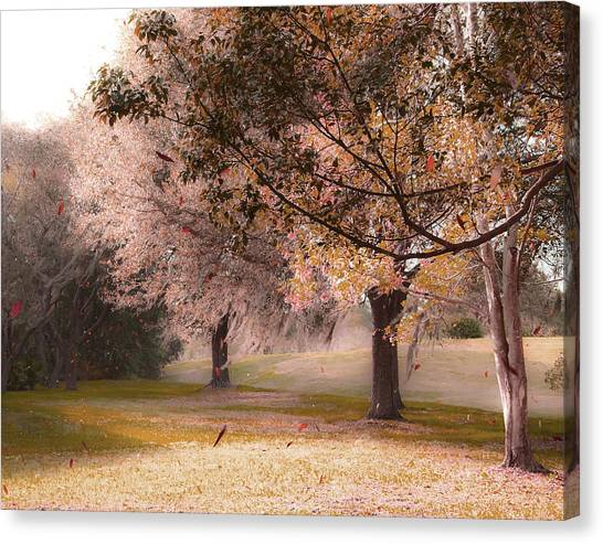 Gusty Afternoon Canvas Print