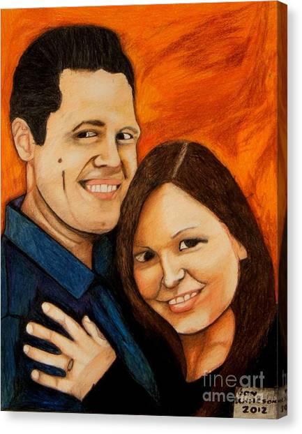 Guy And Bridget Canvas Print