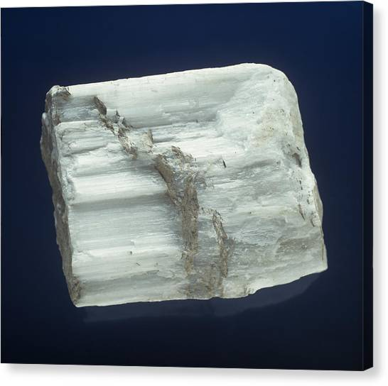 Drywall Canvas Print - Gypsum by Charles D. Winters