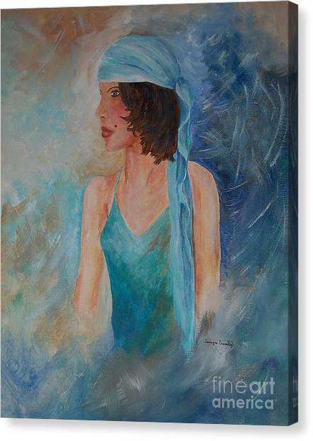 Gypsy Blue Canvas Print