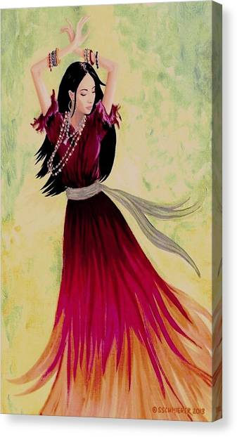 Gypsy Dancer Canvas Print
