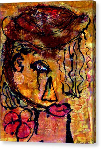 Gypsy Woman Canvas Print