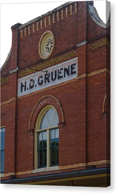 H D Gruene Canvas Print