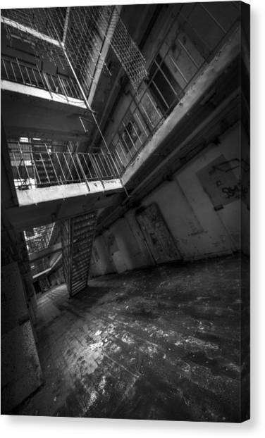 Detention Canvas Print - H15 by Jason Green