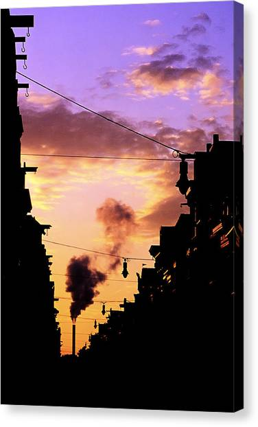 Haarlemmerstraat Canvas Print