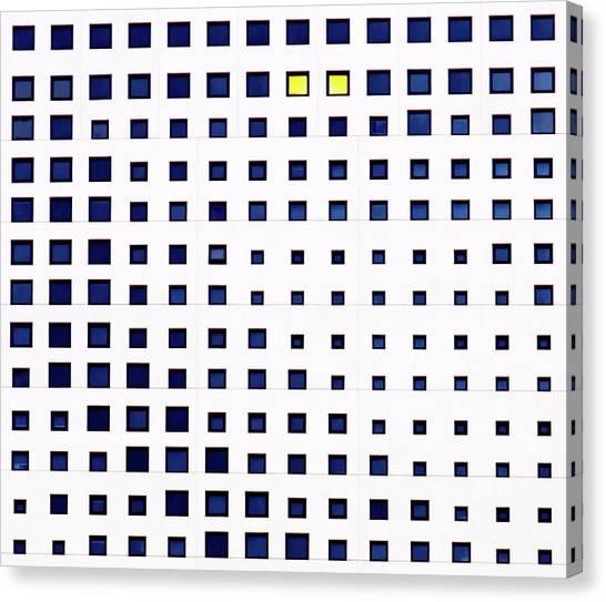 Bricks Canvas Print - Habitat by Gregory Evans