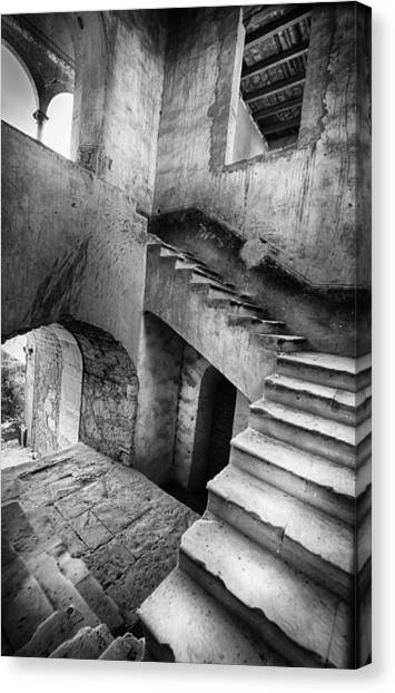 Hacienda Stairwell Canvas Print