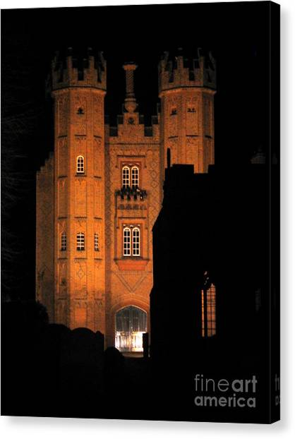 Hadleigh Deanery By Night Canvas Print