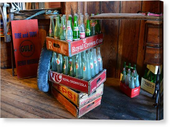 Mountain Dew Canvas Print - Stacked Up by David Lee Thompson