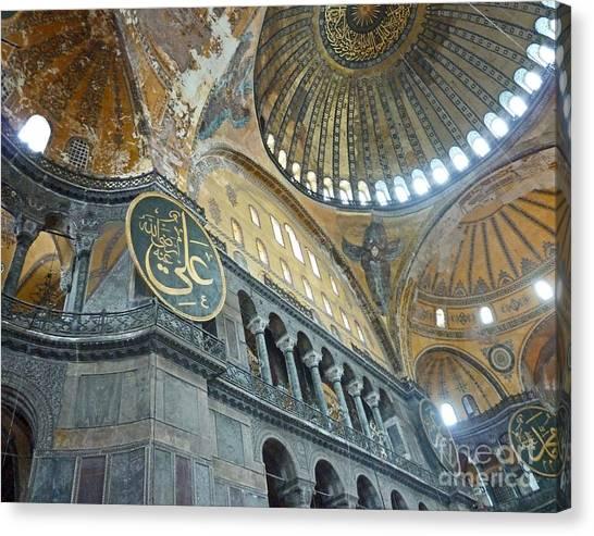 Hagia Sophia 4 - Istanbul Canvas Print