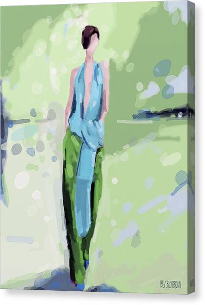 Haider Ackermann Fashion Illustration Art Print Canvas Print