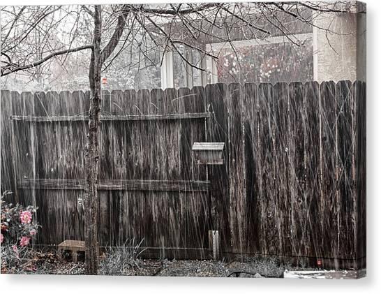 Hailstorms Canvas Print - Hailstorm by Jim Thompson