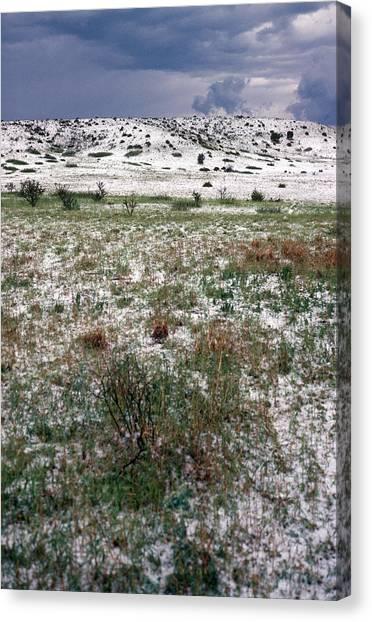 Hailstorms Canvas Print - Hailstorm by Karl H. Switak