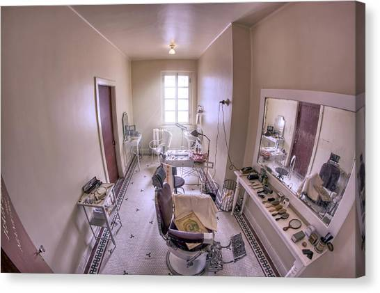 Hair Dressing Room At Fordyce Bath House - Hot Springs - Arkansas Canvas Print