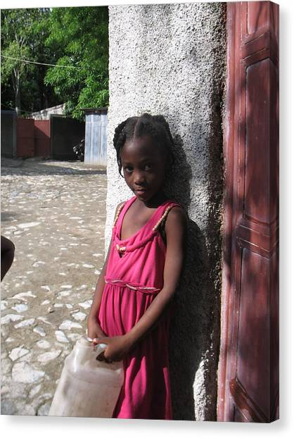 Haitian Princess Five Canvas Print by Bob Snyder