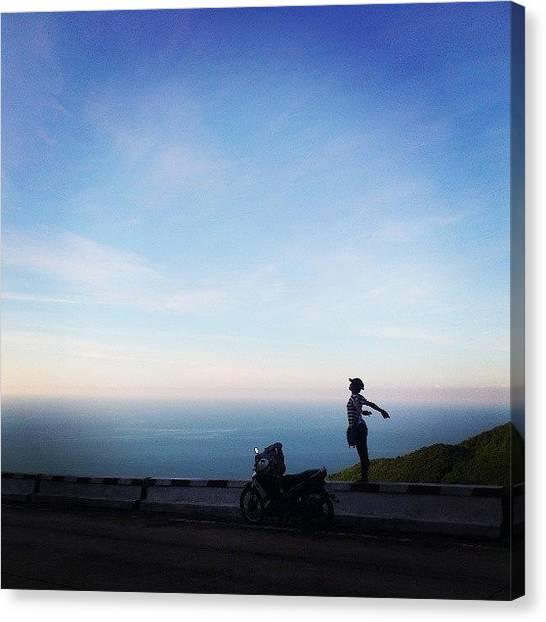 Backpacks Canvas Print - #haivanpass #deohaivan #langcobay by An Chung