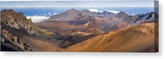 Haleakala Crater, Maui, Hawaii Canvas Print