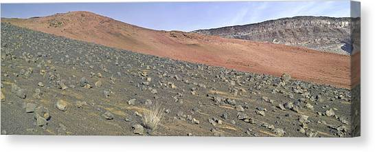Haleakala Pano Two Canvas Print by Peter J Sucy