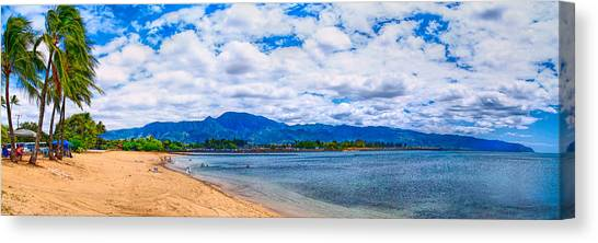 Haleiwa Beach Canvas Print