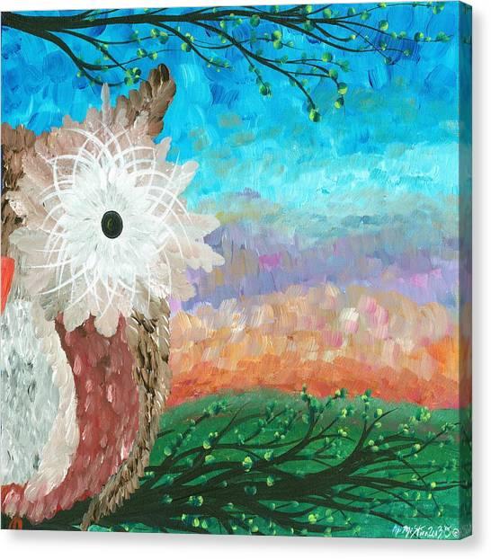 Half-a-hoot 02 Canvas Print
