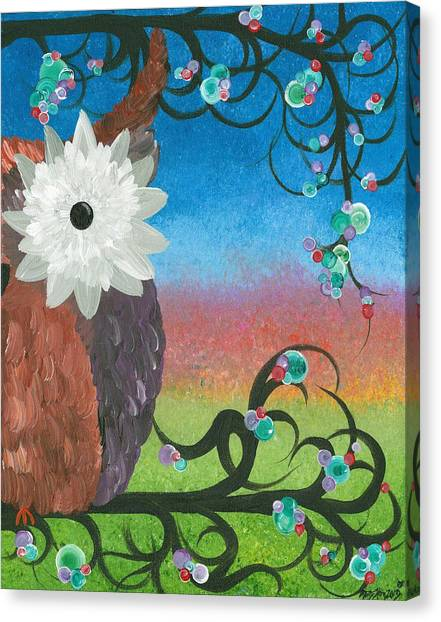 Half-a-hoot 04 Canvas Print