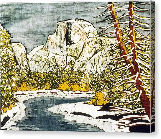 Half Dome Canvas Print by Alexandra  Sanders