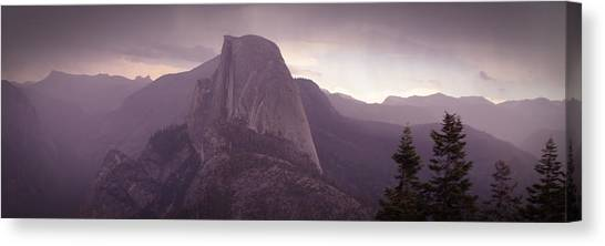 Half Dome From Glacier Point Canvas Print