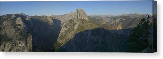 Half Dome Canvas Print by Gary Lobdell