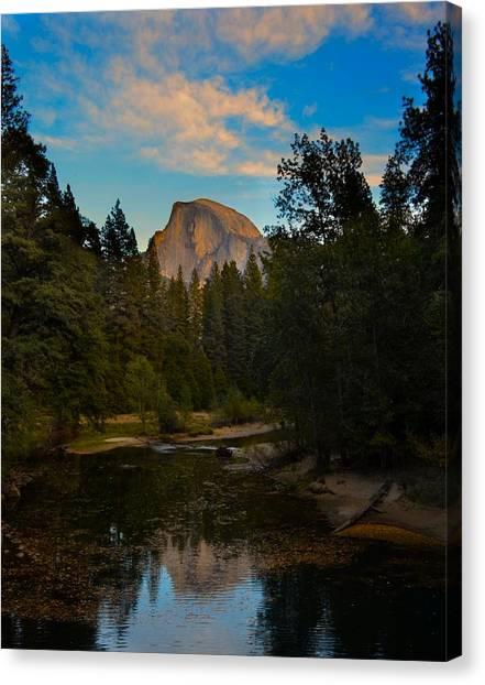 Half Dome In Yosemite Canvas Print