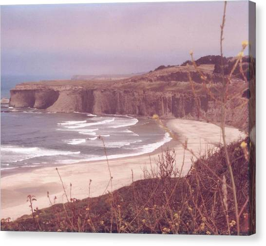 Half Moon Bay Canvas Print