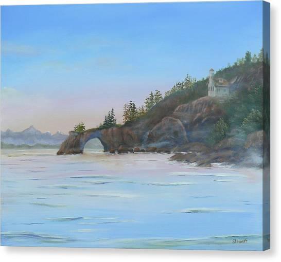 Halibut Cove Canvas Print
