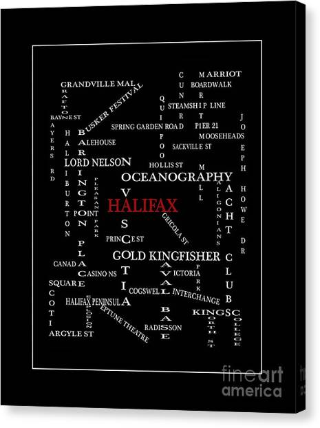Crossword puzzle canvas prints fine art america crossword puzzle canvas print halifax nova scotia crosswords red by barbara griffin ccuart Gallery