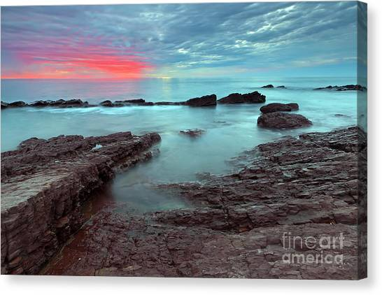 Hallett Cove Sunset Canvas Print