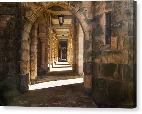 The University Of Tennessee Canvas Print - Hallowed Halls by Paula Ponath