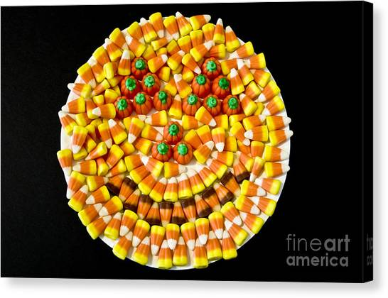 Halloween Candy Canvas Print